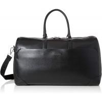 Guess Manhattan Herren Henkeltasche Schwarz Black 23.5x29x50 cm W x H L Schuhe & Handtaschen