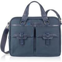 Piquadro Laptoptasche 13 blau Schuhe & Handtaschen