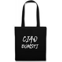 Spreadshirt Ciao Bumsti Österreich Ibiza Stoffbeutel Schwarz Schuhe & Handtaschen