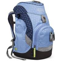 ERGOBAG HimmelreitBär Kinder-Rucksack 35 cm Blaue Punkte Koffer Rucksäcke & Taschen