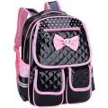 Kaxich Kinder Mädchen Rucksack Schulrucksack PU-Leder Prinzessin Stil Schultaschen Kinderrucksack für Teenage Maedchen 6-8 Jährige Koffer Rucksäcke & Taschen