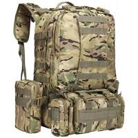N-B Outdoor-Sport Bergsteiger Rucksack Reisen Großer Multifunktions-Tactical Army Camouflage Camping Kombinationsrucksack Koffer Rucksäcke & Taschen