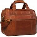 STILORD 'Experience' Vintage Lehrertasche Leder groß für Herren Damen XL Aktentasche Business Schulter- oder Umhängetasche für Laptop Trolley aufsteckbar FarbeCognac - braun Koffer Rucksäcke & Taschen