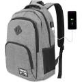 YAMTION Laptop Rucksack Business Rucksack für 15.6 Zoll Koffer Rucksäcke & Taschen