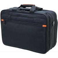 Aktentasche Laptoptasche Multifunktionstasche Schulterriemen 44 Schwarz Bowatex Koffer Rucksäcke & Taschen