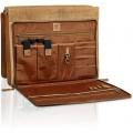 ETAVI® Messenger Tasche Montana Leder | Arbeitstasche für 16 Laptops | Laptoptasche mit Trageschlaufe Braun Koffer Rucksäcke & Taschen