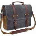 NEWHEY Herren Umhängetaschen Aktentasche Laptoptasche Koffer Rucksäcke & Taschen