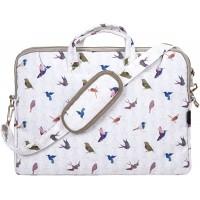 TaylorHe strapazierfŠhig Laptoptasche Notebooktasche aus Polycanvas mit Seitentaschen und abnehmbarem Riemen Všgel GrŸn Koffer Rucksäcke & Taschen