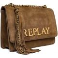 Replay Damen Fw3910.001.a3154 Clutch Braun Old Brown Schuhe & Handtaschen