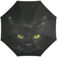 Automatik Regenschirm Taschenschirm Essentials cat mit wunderschönem Katzenmotiv Koffer Rucksäcke & Taschen