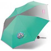 Scout Kinder Regenschirm Taschenschirm Schultaschenschirm mit großen Reflektionsflächen extra leicht Summer Green Koffer Rucksäcke & Taschen