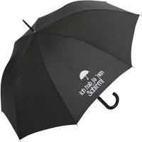 Stockschirm für Damen und Herren mit Automatik - Bedruckt Ich hab ja NEN Schirm Koffer Rucksäcke & Taschen