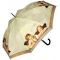VON LILIENFELD Regenschirm Raffael Engel Auf-Automatik Damen Kunst Stockschirm Stabil Koffer Rucksäcke & Taschen