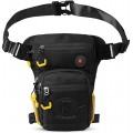 Eshow Beintasche Herren Beintasche Motorrad Wasserdicht Hüfttasche Bein Hip gürteltasche für Radfahren Wandern Klettern Koffer Rucksäcke & Taschen