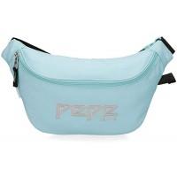 Pepe Jeans Uma Gürteltasche Blau 36x16 5x7 cms Polyester Koffer Rucksäcke & Taschen