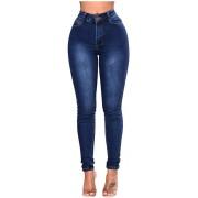 Canifom High Waist Damen Hose Jeans Jeanshose Bekleidung