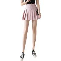 N D Women's Short Pleated Skirt Skater Tennis Skirts High Waist with Comfy Stretchy Band Mini Skirt Bekleidung