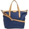 ESPRIT Damen Handtasche Tasche Henkeltasche Anne City Bag Blau 129EA1O030-400 Schuhe & Handtaschen