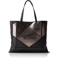 Love Moschino Borsa Donna Mod. JC4120PP18 00A Nero-ORO Schuhe & Handtaschen