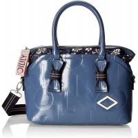 Oilily Damen Brightly Handbag Mhz Henkeltasche Blau Blue Schuhe & Handtaschen
