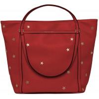 Replay Damen Fw3836.005.a0132d Henkeltasche Rot Gloss Red Schuhe & Handtaschen