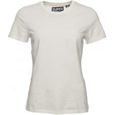 Superdry Damen Elite T-Shirt mit Rundhalsausschnitt aus Biobaumwolle aus der Or Bekleidung
