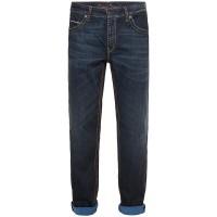Camp David Herren Jeans CONO mit Breiten Nähten und gefärbter Innenseite Bekleidung