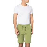 Urban Classics Herren Shorts aus Bio-Baumwolle Organic Cotton Cargo Sweatshorts kurze Jogginghose mit Cargo-Taschen für Männer in 2 Farben Größen S - 5XL Bekleidung