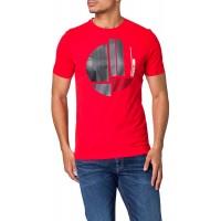 BOSS Herren Tee 1 T-Shirt aus Reiner Baumwolle mit Rundhalsausschnitt und grafischem Artwork Bekleidung