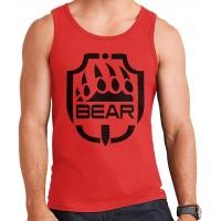 Bear Emblem Escape from Tarkov White Men's Vest Bekleidung