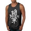Coole Herren Sport Body Shaping Sommer Casual Soft Fashion Regelmäßige runde Kragen schnell trocknen atmungsaktive Tank Top Shirt Trivium Bekleidung