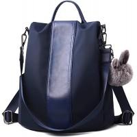 Charmore Damen Rucksack Wasserdichte Nylon Schultasche Anti Diebstahl Daypack Schultertasche Leichtgewicht Reiserucksack Schuhe & Handtaschen