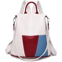 NIYUTA Damen Rucksackhandtaschen modische reise freizeit business Schultertaschen schulrucksack de187 Nicht-Gerade Weiss Schuhe & Handtaschen