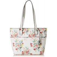 Gabor bags Umhängetasche Damen Flores Weiß Blumenmuster L Handtasche Tasche Damen Schuhe & Handtaschen
