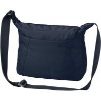 Jack Wolfskin Damen Umhängetasche VALPARAISO BAG praktische Schultertasche midnight blue ONE SIZE Schuhe & Handtaschen