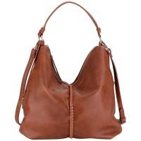 LI&HI Damen Rucksack PU Schultaschen Vintage Braun Schultertaschen Damen Tasche Handtasche Schuhe & Handtaschen