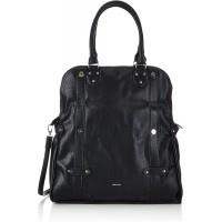 Tamaris Kim Shopping Bag 1160142-001 Damen Shopper 40x30x11 cm B x H x T Schwarz Black 001 Schuhe & Handtaschen
