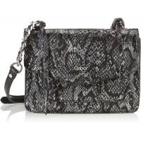 Gabor Umhängetasche Damen Schwarz Bahia 21x8x16 cm Tasche Schultertasche Snake Schuhe & Handtaschen