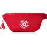 Kipling Damen Fresh Umhängetasche Rot Lively Red Schuhe & Handtaschen
