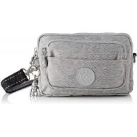 Kipling Damen Multiple Umhängetasche Grau Chalk Grey Schuhe & Handtaschen