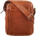 STILORD 'Harry' Vintage Schultertasche Männer Leder für 10 1 Zoll Tablet Umhängetasche DIN A5 Herren-Handtasche Messenger Bag mit 2 Hauptfächern FarbeCognac - glänzend Schuhe & Handtaschen